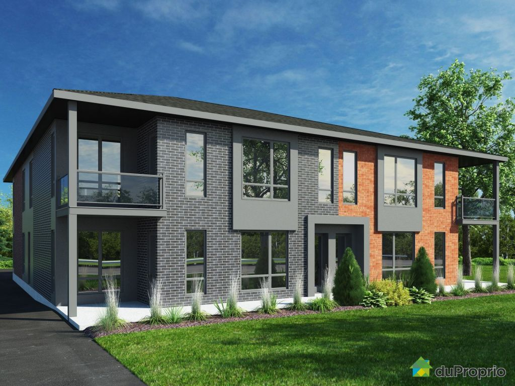 Newly Built Condo For Sale In St Louis De Gonzague Rue De La Fabrique Unit