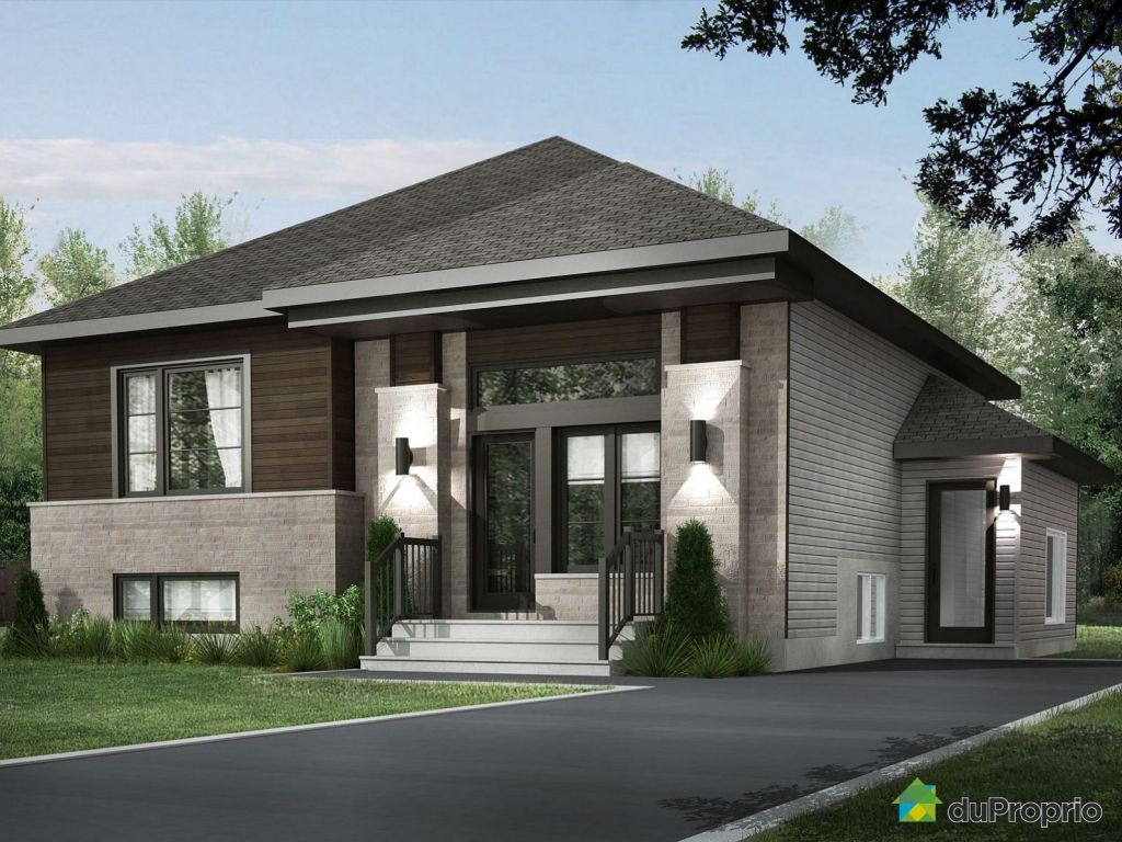 Newly built house sold in mirabel duproprio 610523 for Extension maison quebec