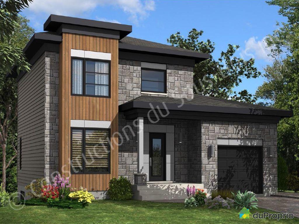 newly built house for sale in st mile rue v zina bois george muir duproprio 505742. Black Bedroom Furniture Sets. Home Design Ideas
