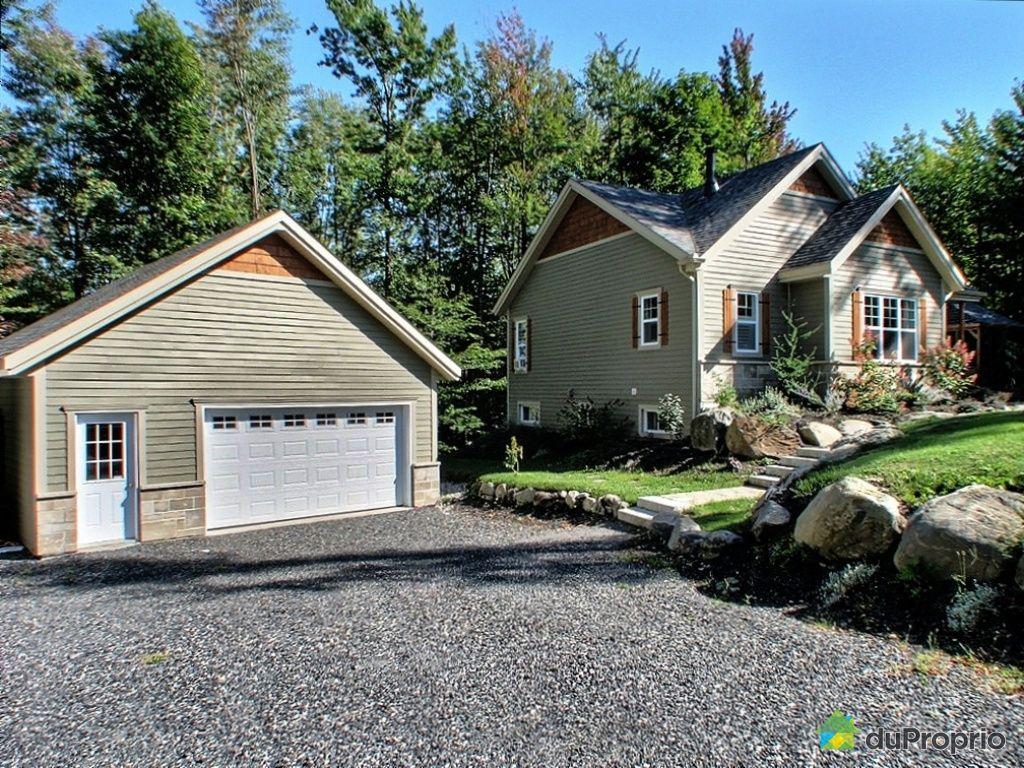 Plan v randa bois pdf for Homes with big garages for sale