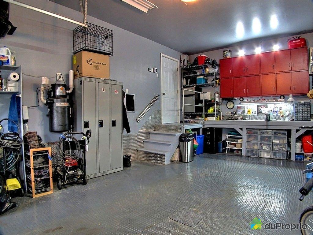 Maison vendu la plaine immobilier qu bec duproprio 428712 for Alarme garage sous sol