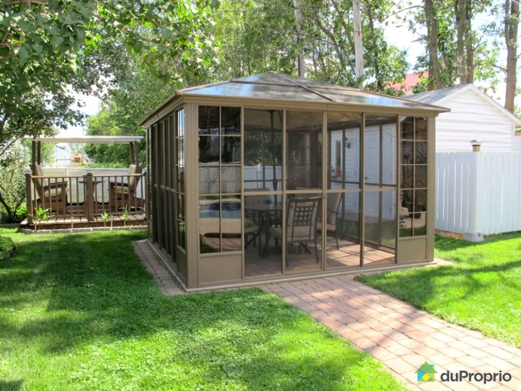 27 Awesome Gazebos Toit Rigide - pixelmari.com