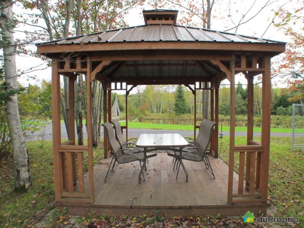 Gazebo En Bois A Vendre Usage : gazebo-maison-a-un-etage-et-demi-a-vendre-st-rene-quebec-province