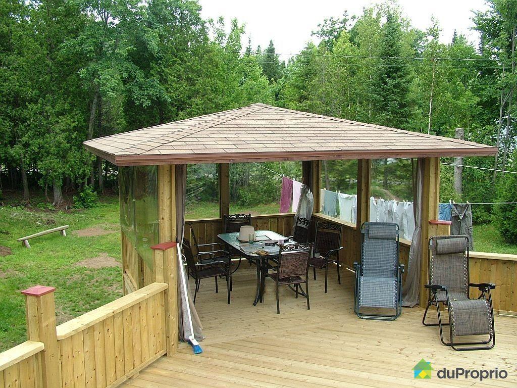 Gazebo En Bois A Vendre Usage : gazebo-maison-mobile-a-vendre-neuville-quebec-province-large-2653207
