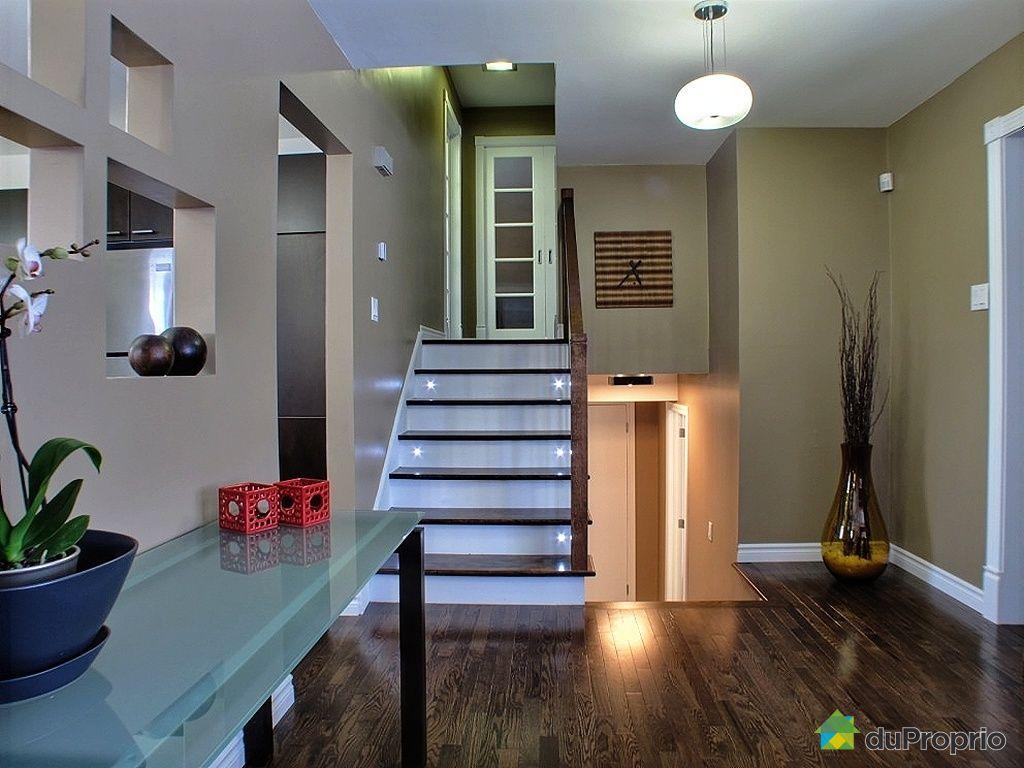Maison vendu montr al immobilier qu bec duproprio 388801 for Decoration hall de maison
