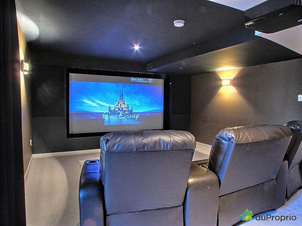 Salle cinma maison interesting big dreams u luxury taste - Salle cinema maison ...