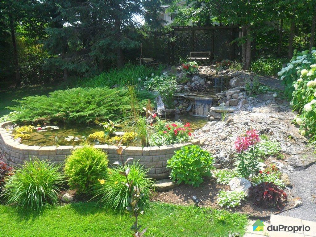 Maison vendre la p che 26 chemin hopkins immobilier for Jardin quebec