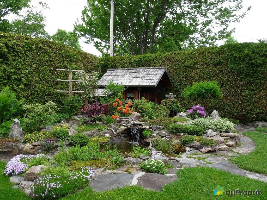 Maison vendu loretteville immobilier qu bec duproprio for Jardin quebec