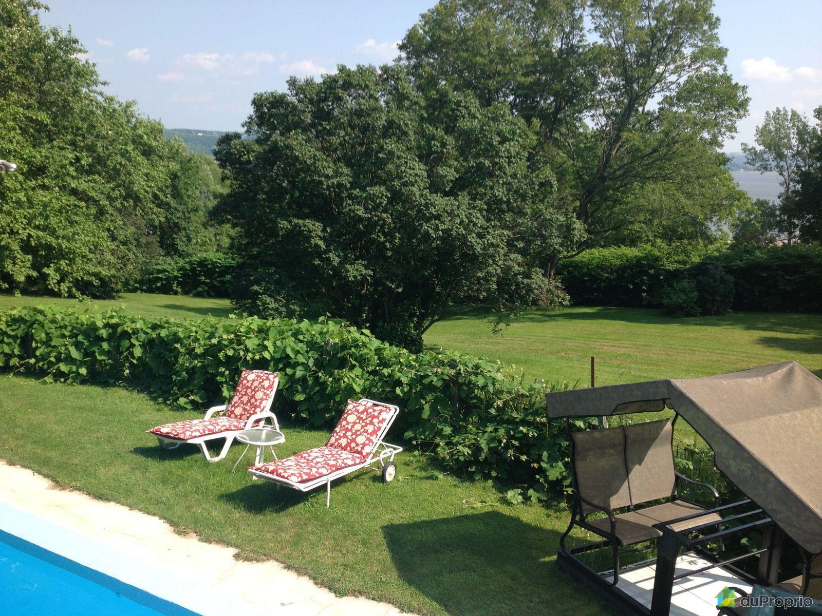 Maison vendu beauport immobilier qu bec duproprio 405947 for Jardin quebec