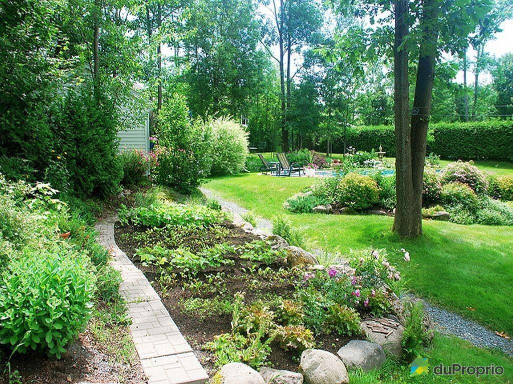 Maison vendu magog immobilier qu bec duproprio 401821 for Auberge jardin champetre magog