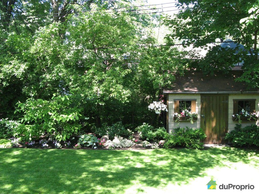 Maison vendu montr al immobilier qu bec duproprio 409298 for Jardin quebec