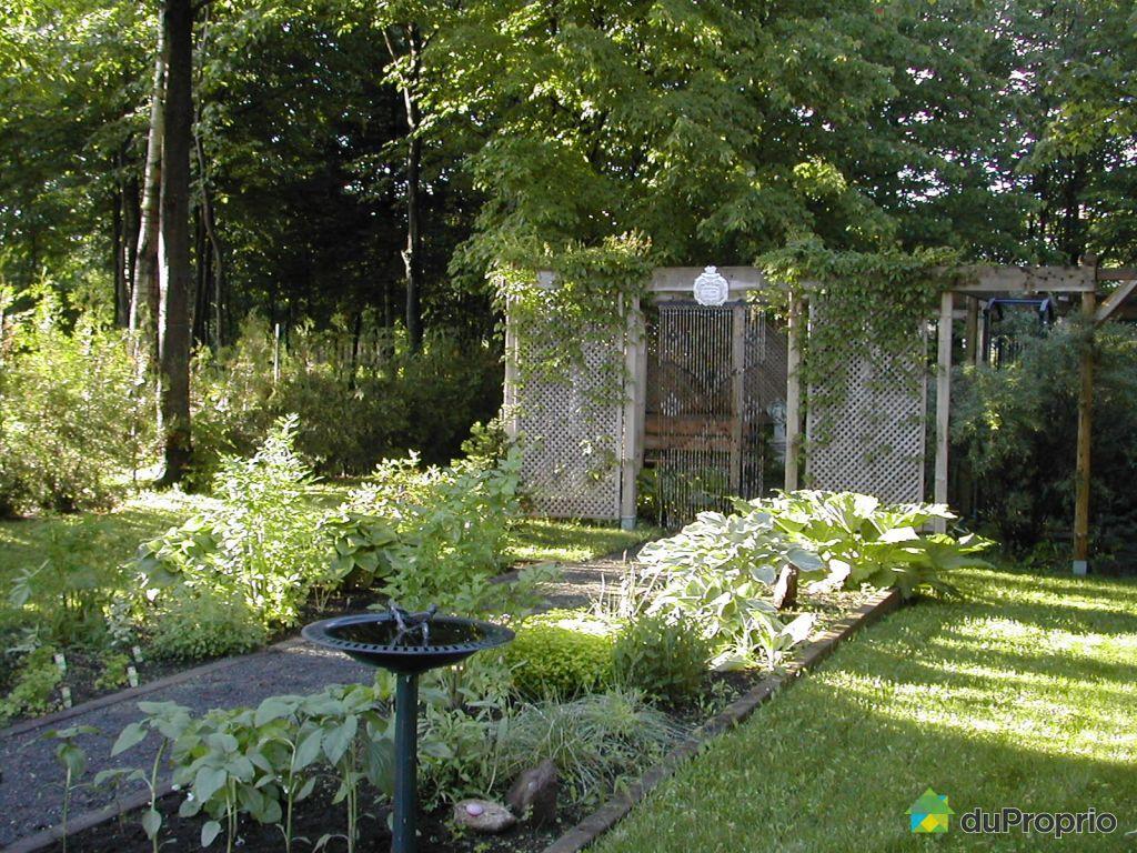 Maison vendre pr vost 1303 rue du clos toumalin for Autre jardin quebec