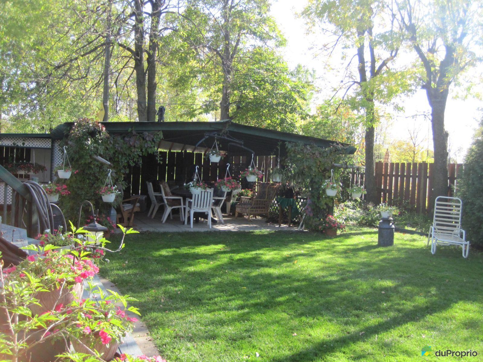 Maison vendu montr al immobilier qu bec duproprio 577155 for Autre jardin quebec
