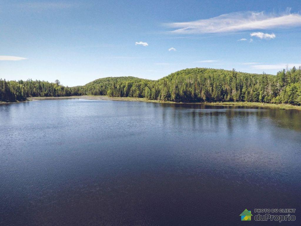 Lac a vendre au quebec proprietes etangs a for Acheter une maison au canada montreal