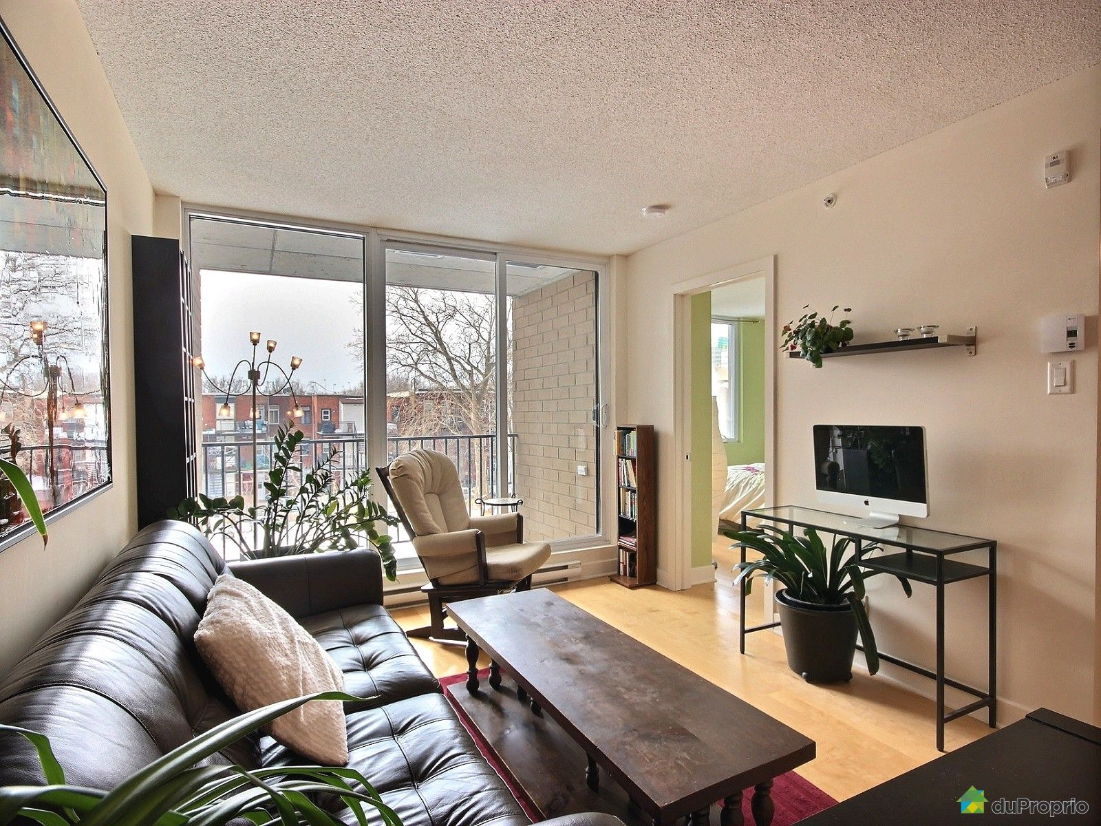 Condo for sale in Montreal 303 680 rue de Courcelle DuProprio  #495F2C