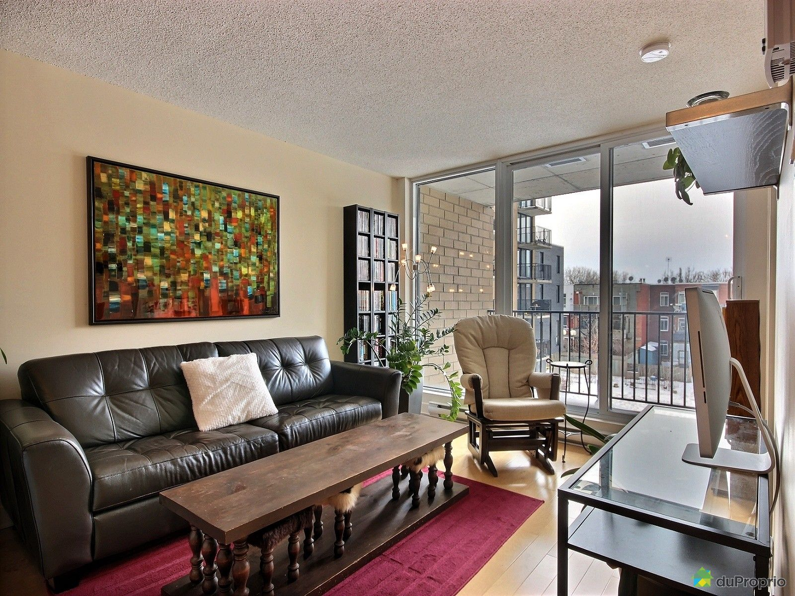 Condo for sale in Montreal 303 680 rue de Courcelle DuProprio  #8E3D53