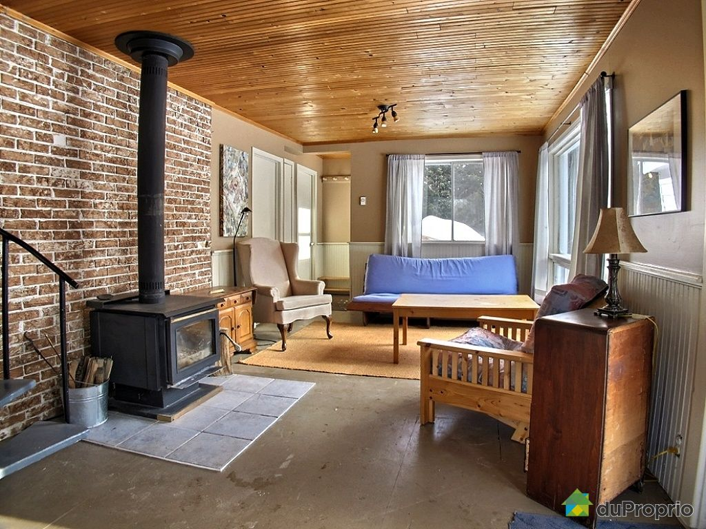 Chalet sold in amherst duproprio 483468 for Amherst family room