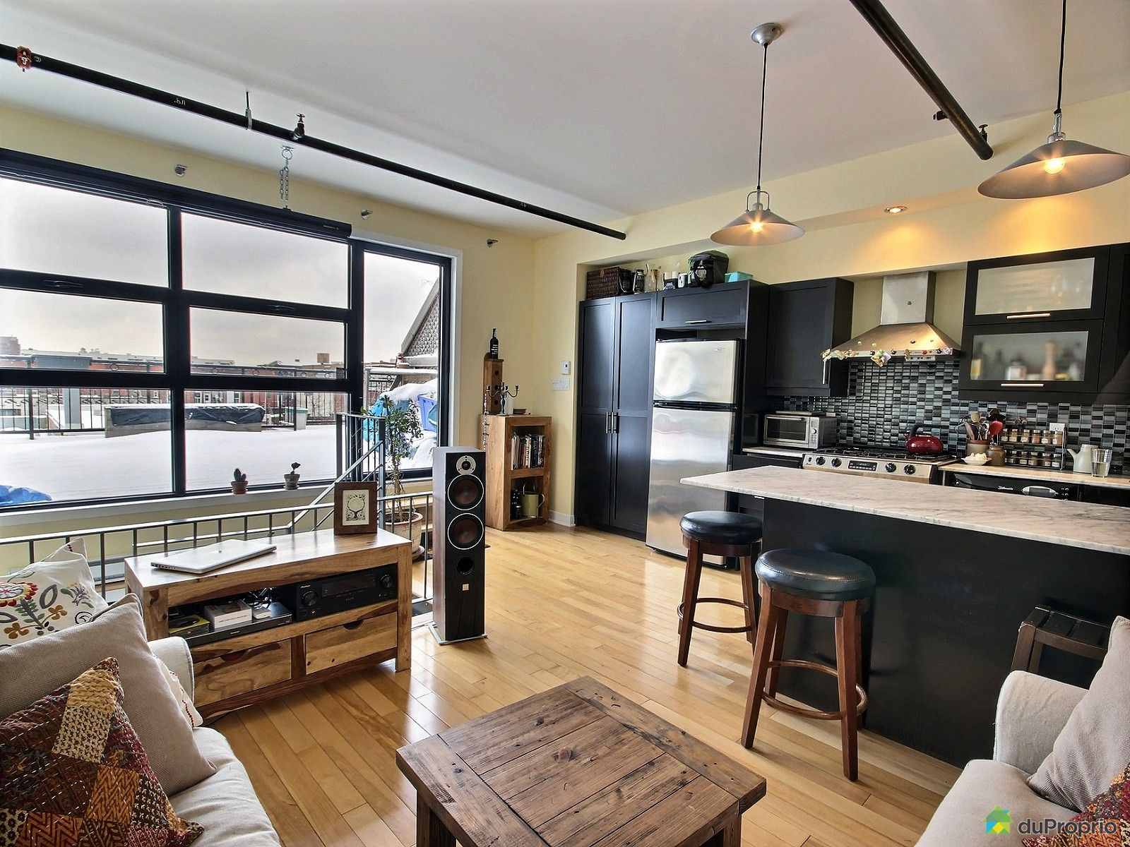 Loft sold in Montreal DuProprio 686372 #664631