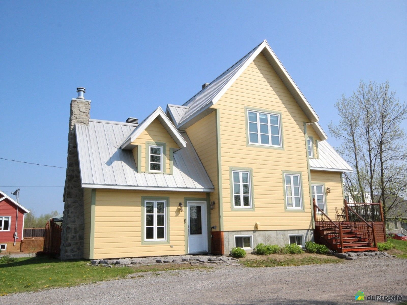 Maison vendre deschambault 184 chemin du roy for Auberge maison deschambault