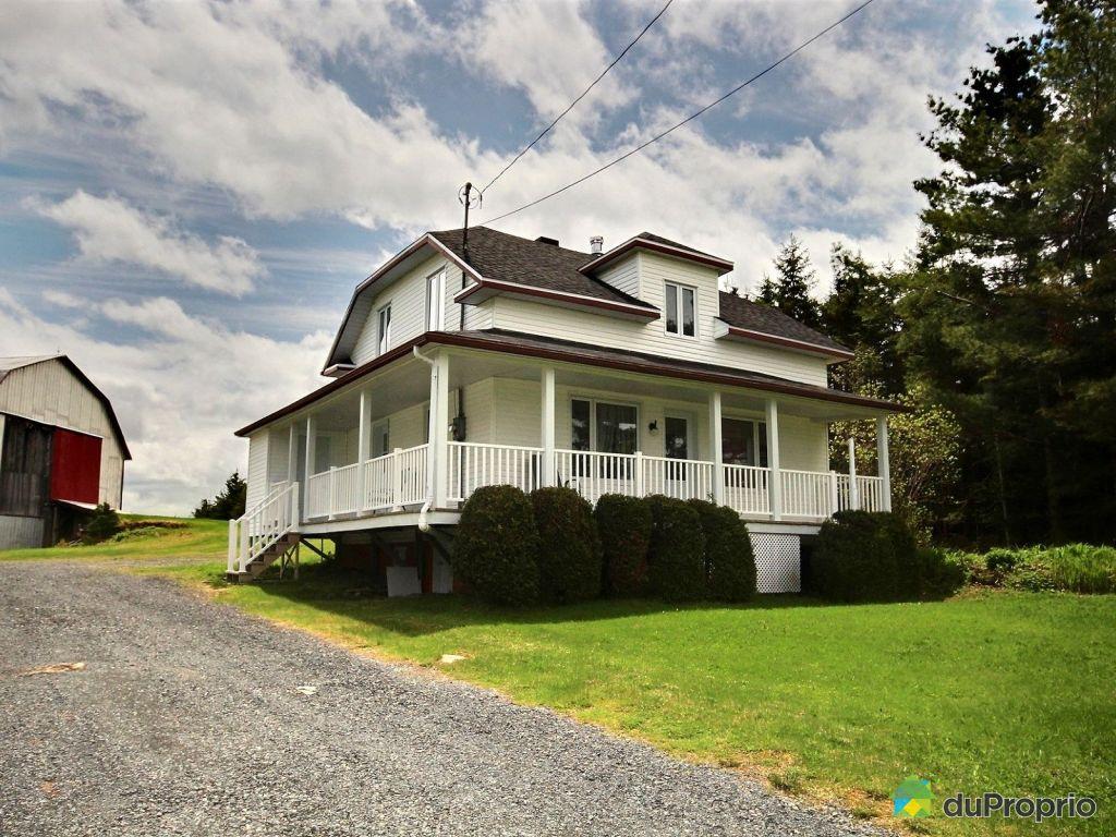 Maison a vendre a lac etchemin proprietes etangs a for Acheter une maison au quebec