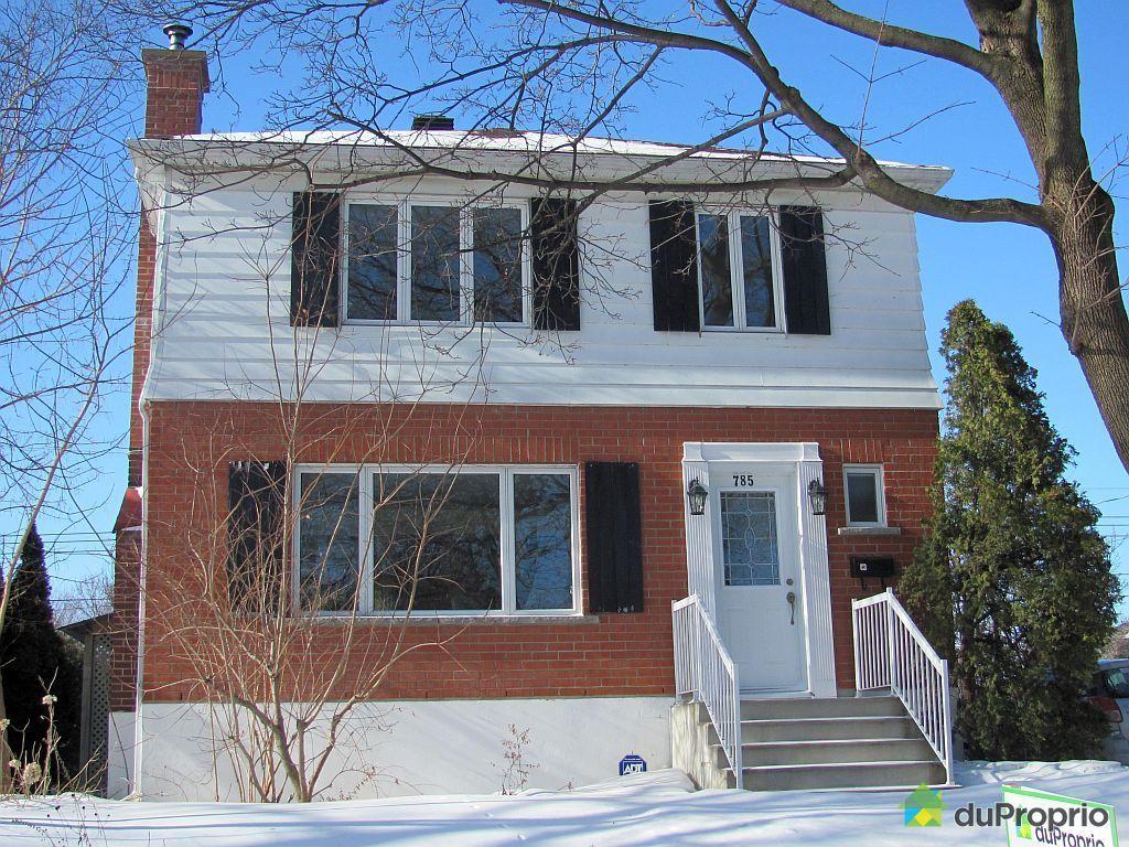 Maison vendu montr al immobilier qu bec duproprio 467286 for Acheter maison montreal canada