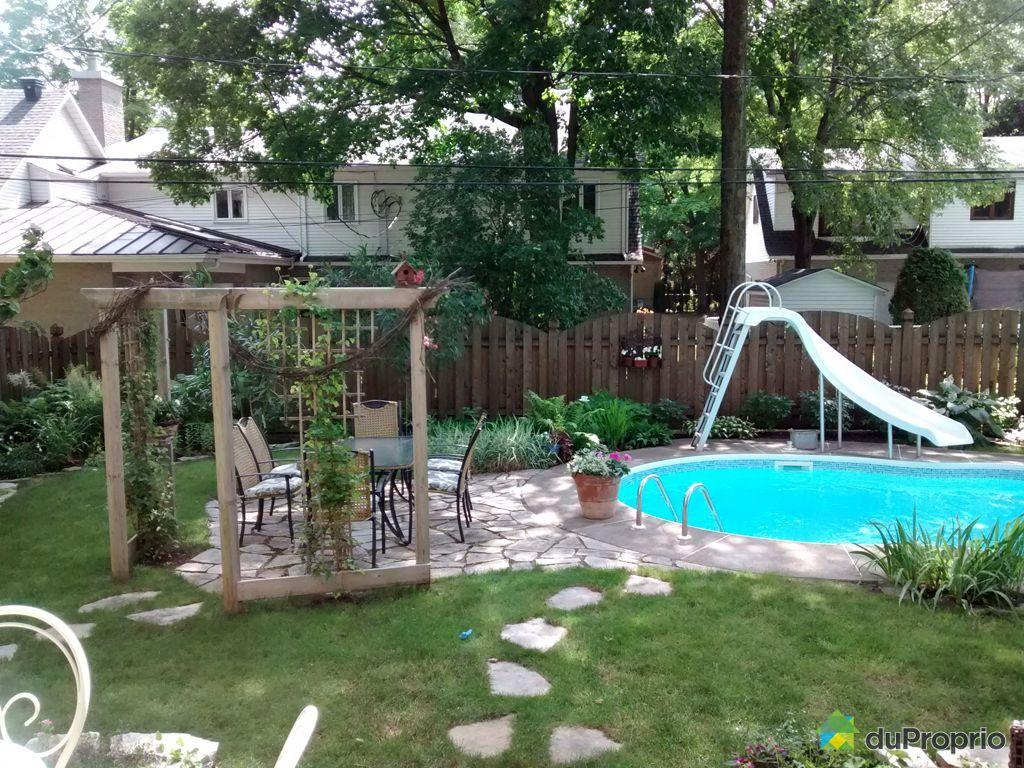 Maison vendu repentigny immobilier qu bec duproprio for Balayeuse piscine creusee