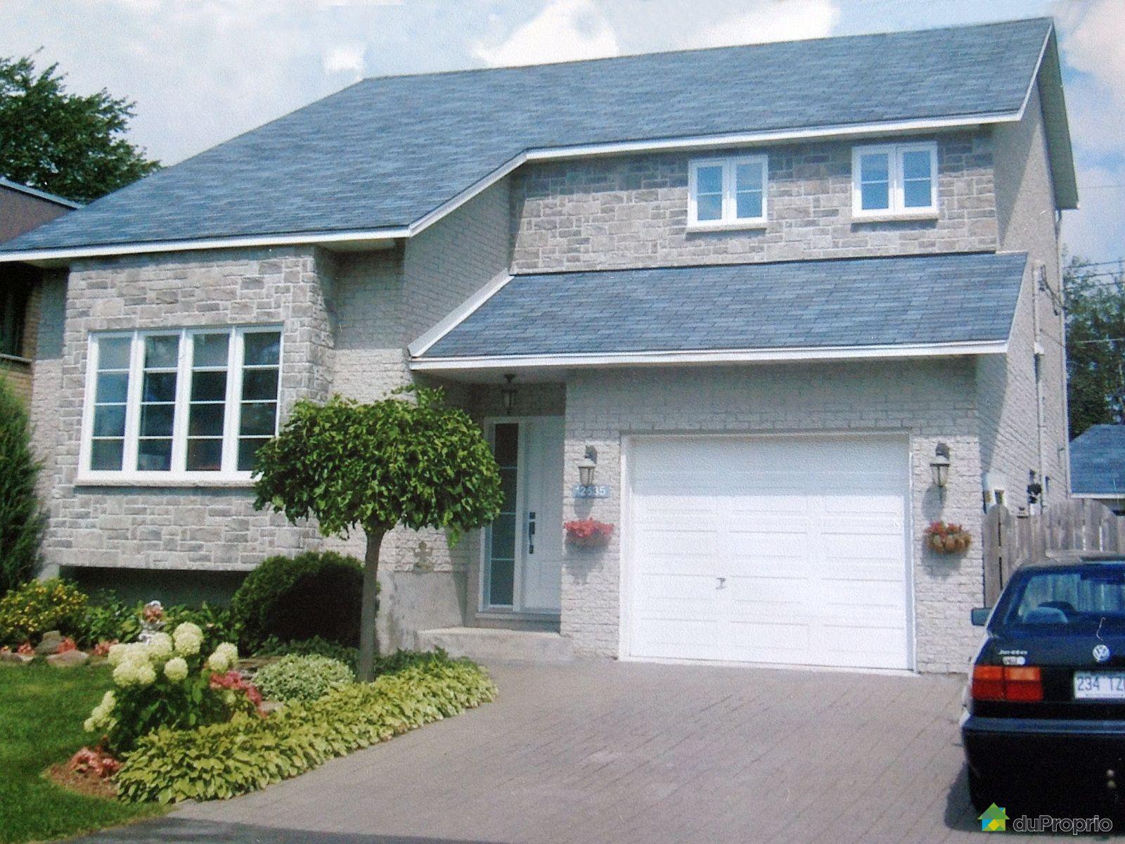 Maison vendu montr al immobilier qu bec duproprio 498894 for Alarme maison montreal