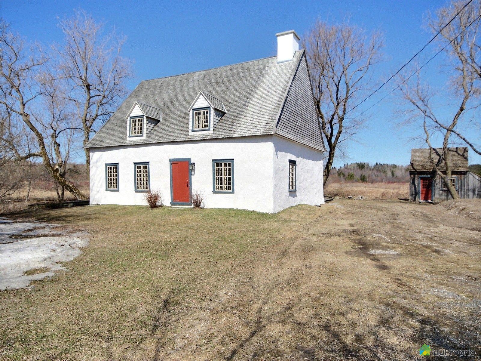 Maison vendre deschambault 150 chemin du roy for Acheter maison quebec