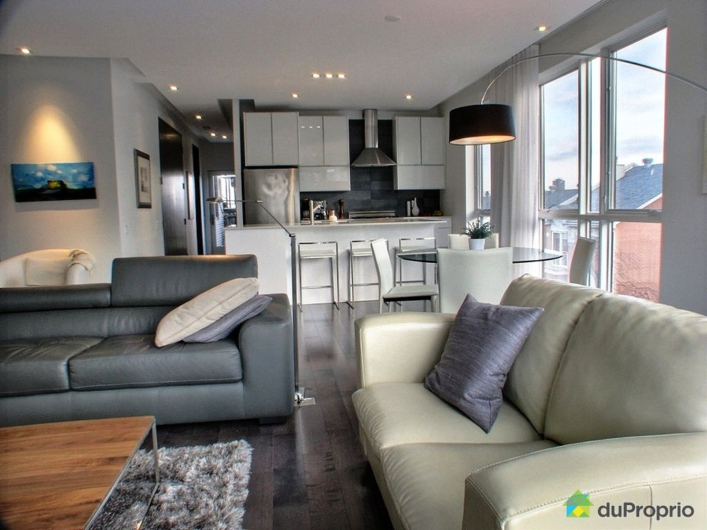 condo sold in montreal duproprio 313195. Black Bedroom Furniture Sets. Home Design Ideas