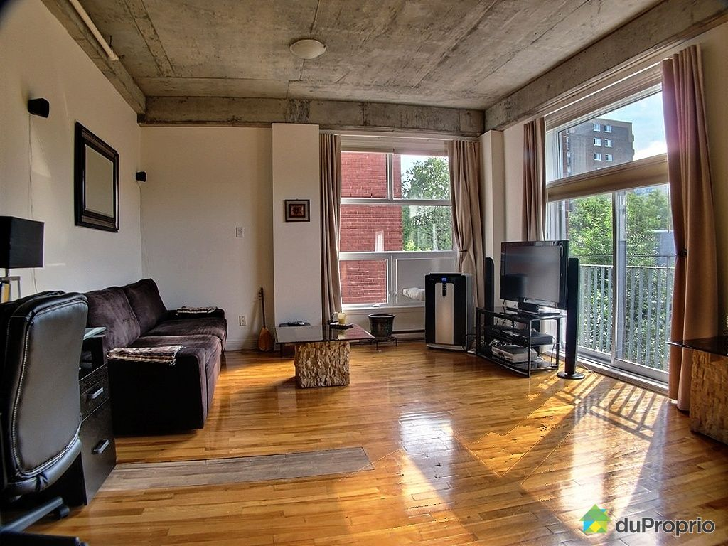 Loft sold in montreal duproprio 293409 for Open concept loft