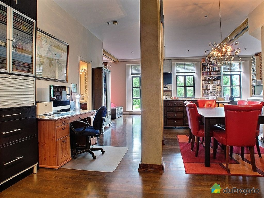 Loft sold in montreal duproprio 342709 for Open concept loft