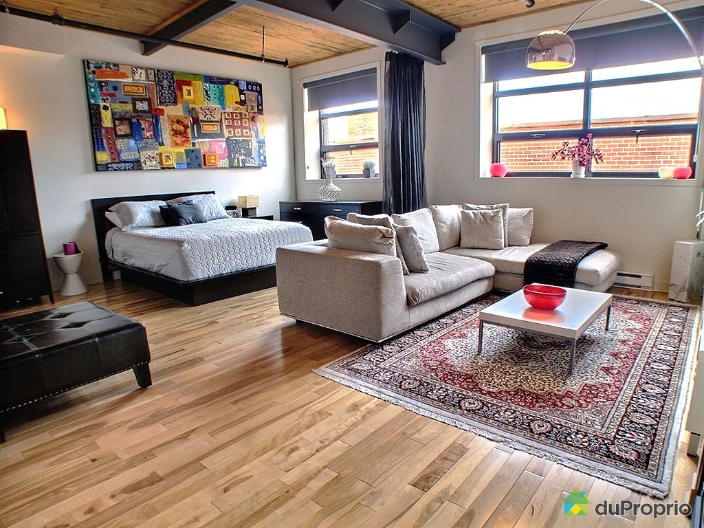 Loft sold in montreal duproprio 268396 for Open concept loft