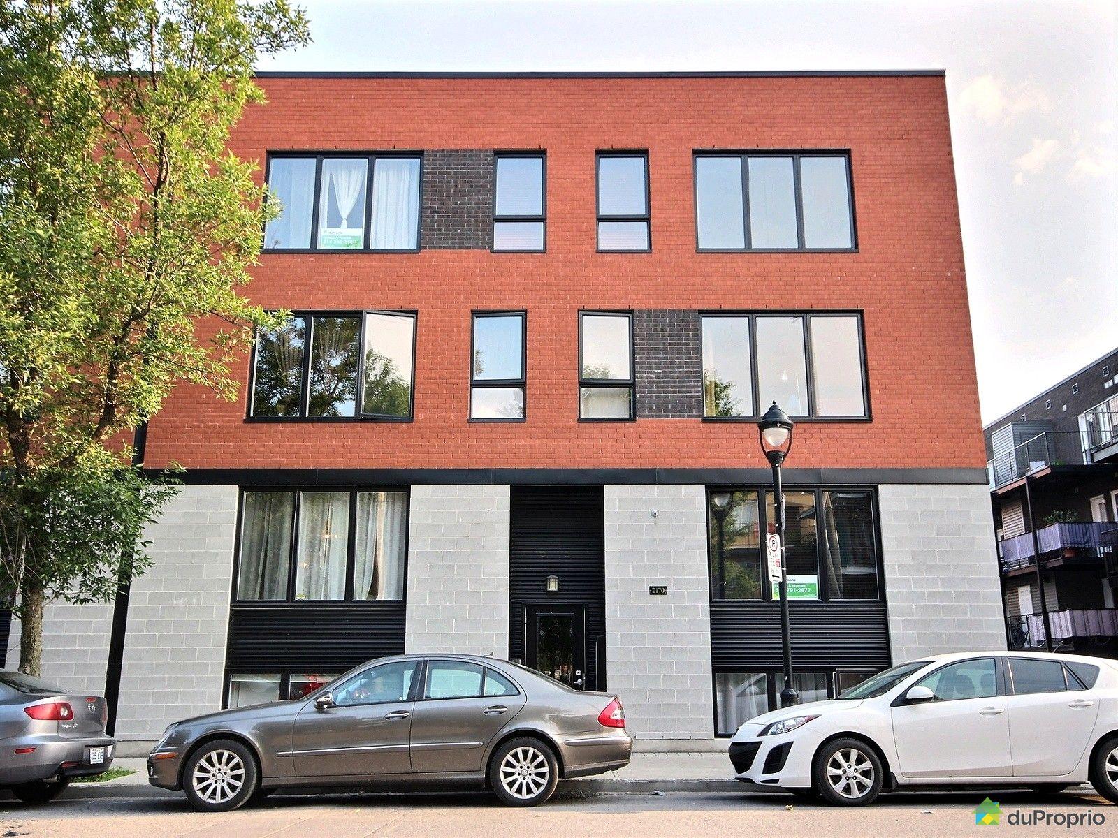 Condo sold in montreal duproprio 621061 for Avantage maison neuve