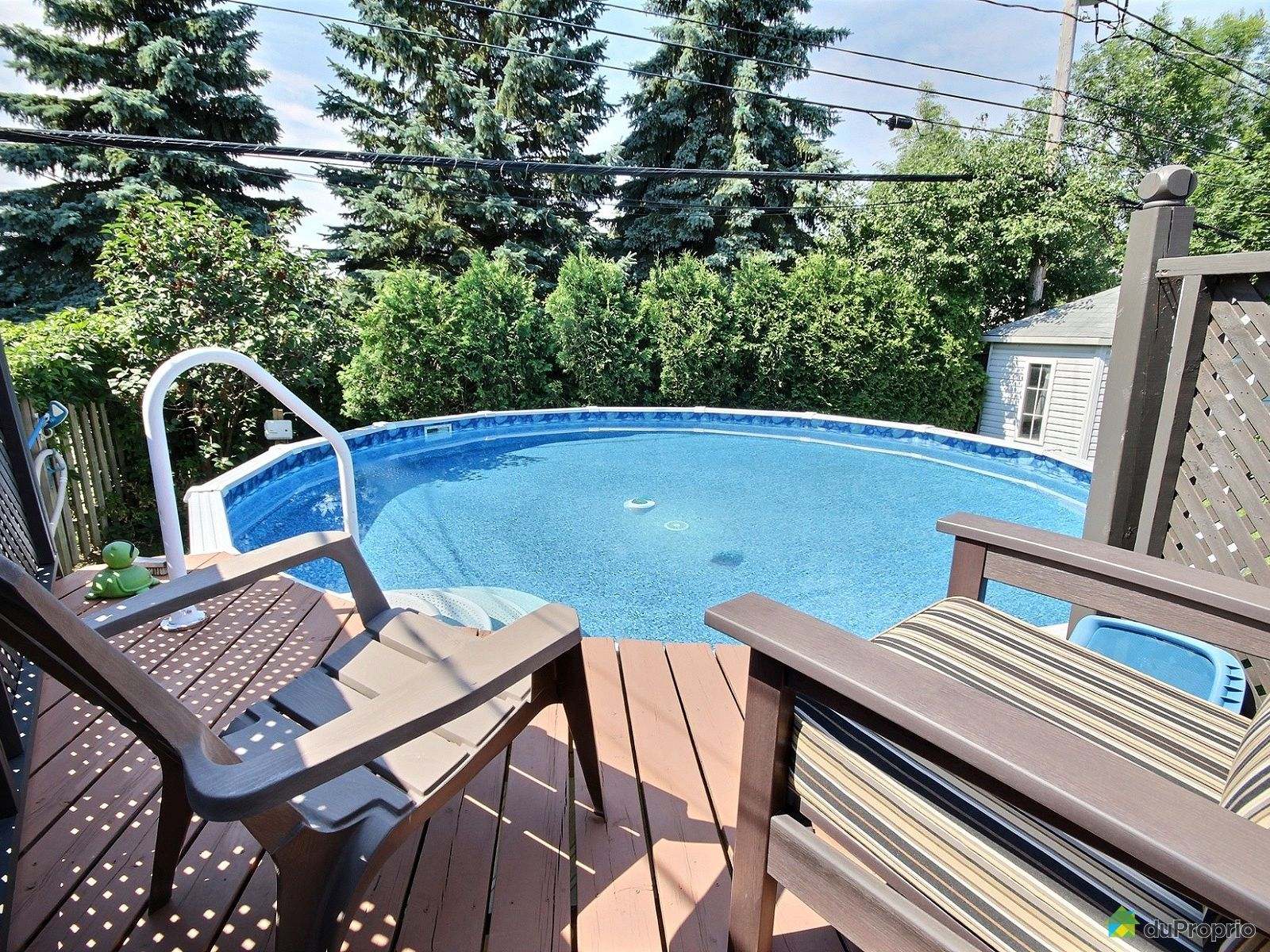 Maison vendre boucherville 1236 rue de jumi ges for Club piscine cabanon