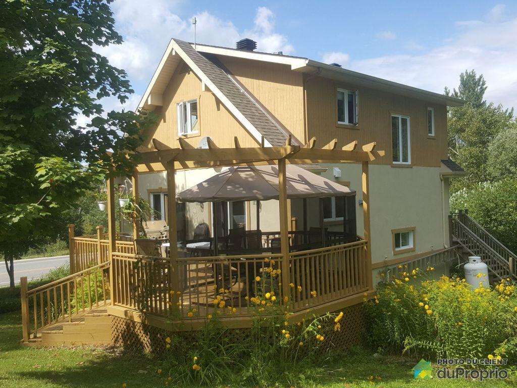 Maison vendre lac simon 2100 route 321 immobilier for Achat maison quebec