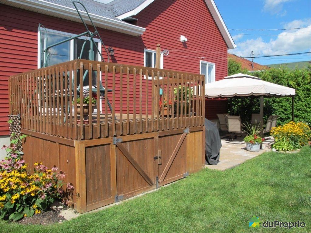 Maison vendu st jean sur richelieu immobilier qu bec for Modele de patio exterieur en bois