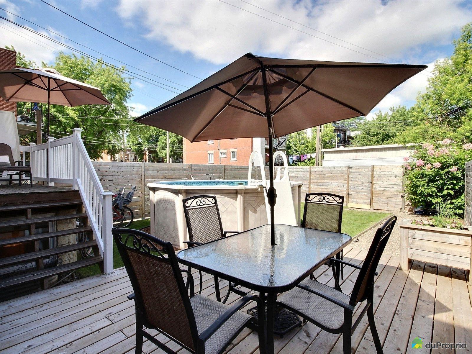 triplex vendu montr al immobilier qu bec duproprio 652527. Black Bedroom Furniture Sets. Home Design Ideas