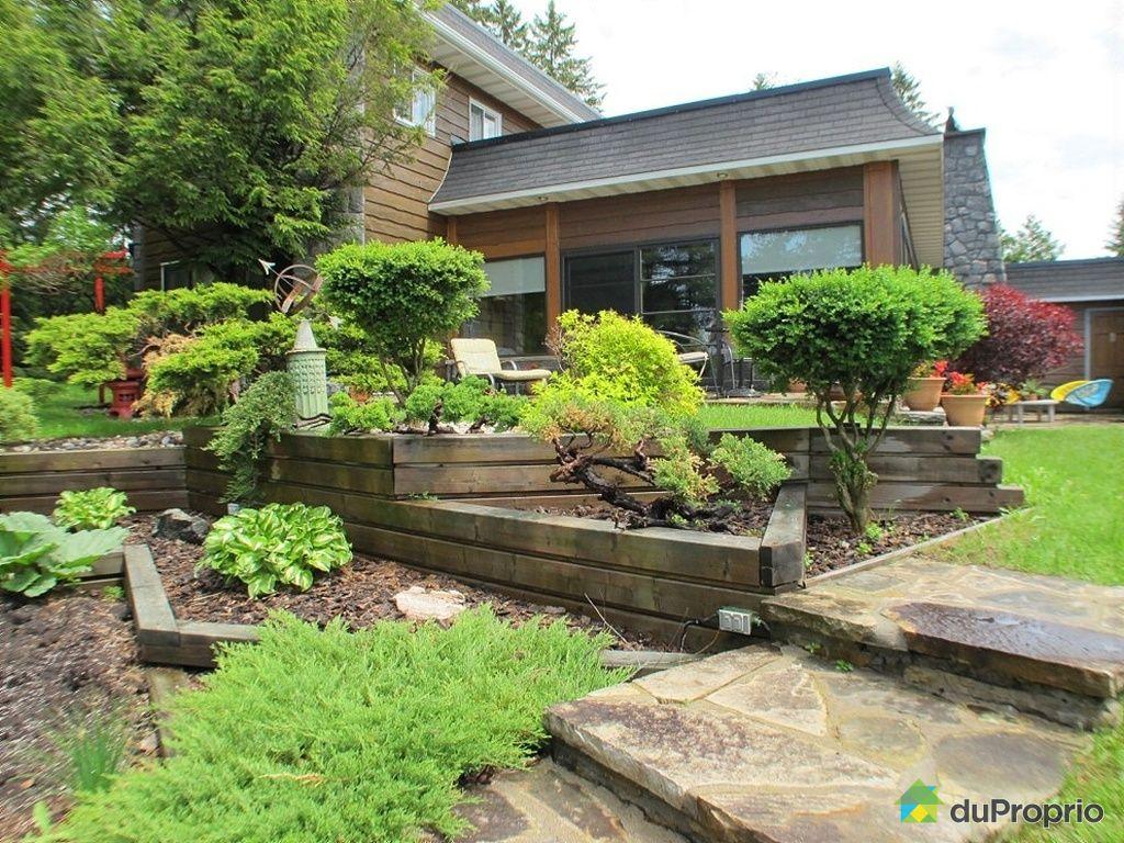 Maison vendre vaudreuil sur le lac 96 rue de la baie for Paysagement exterieur