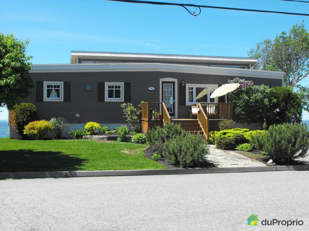 Maison vendu rimouski 844 rue de la plage immobilier for Auberge de la vieille maison rimouski qc
