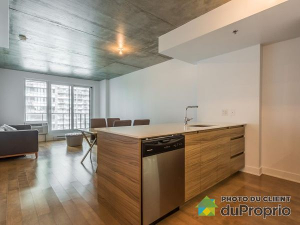 1004-235 Rue Peel, Griffintown for rent