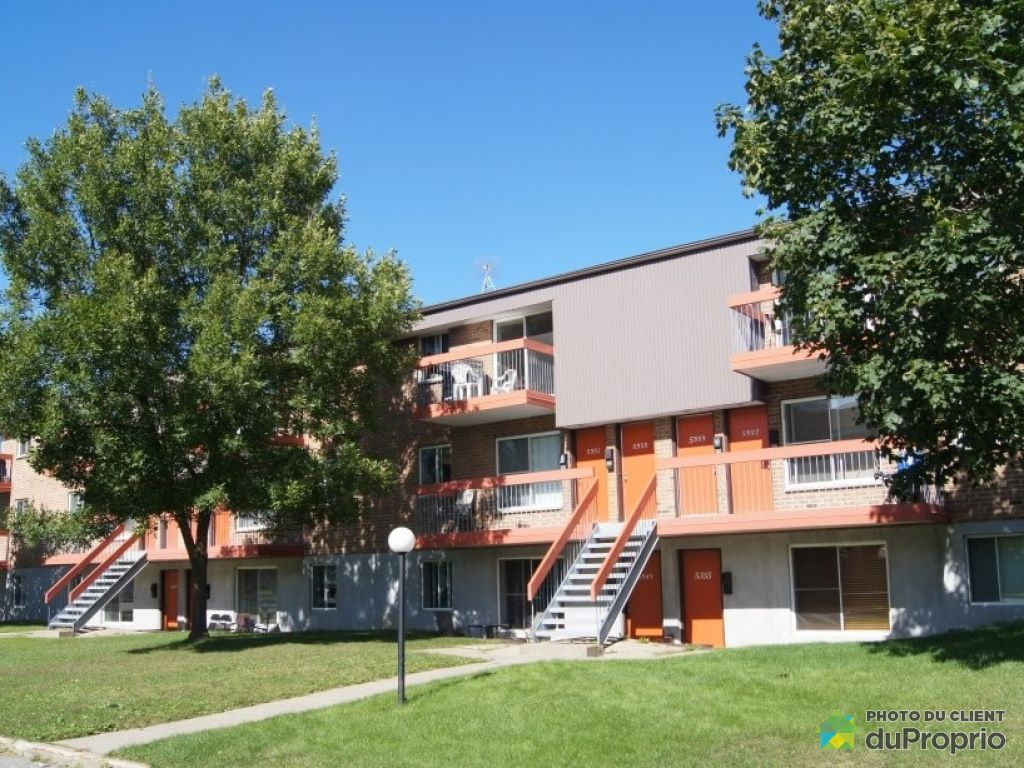 Apartment - 5343-5331-5359 rue Du Menuet, Charny for rent