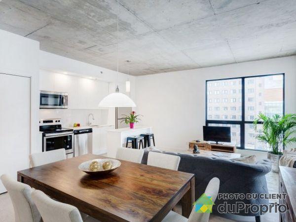Dining Room - 501-1445 rue Clark - Myriade - PAR MONDEV, Ville-Marie (Centre-Ville et Vieux Mtl) for rent