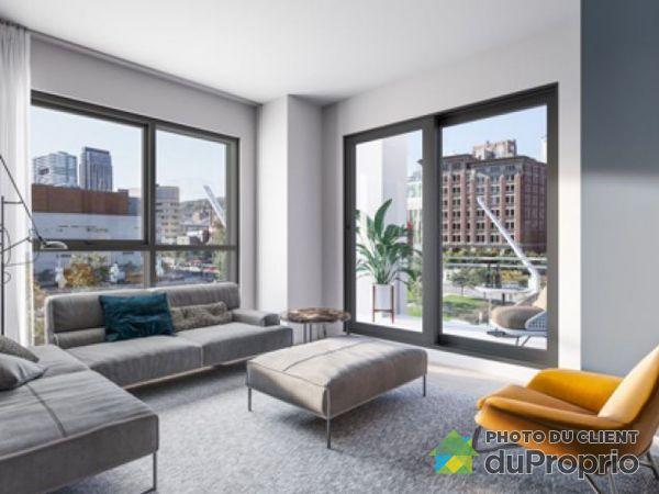 Living Room - 1705-1445 rue Clark - Myriade - PAR MONDEV, Ville-Marie (Centre-Ville et Vieux Mtl) for rent