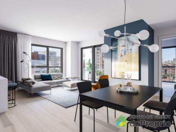 Dining Room / Living Room - 707-1445 rue Clark - Myriade - PAR MONDEV, Ville-Marie (Centre-Ville et Vieux Mtl) for rent