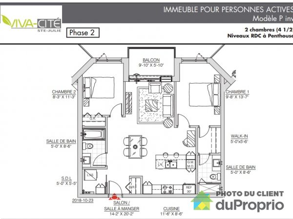 122-173 boulevard Armand-Frappier, Ste-Julie for rent