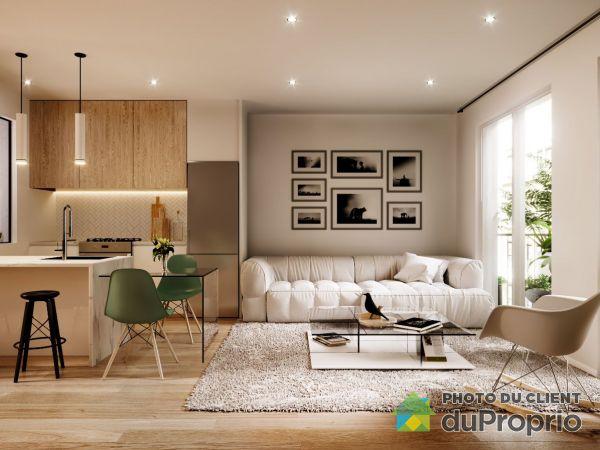 206-4544 rue Saint-Denis, Le Plateau-Mont-Royal for rent