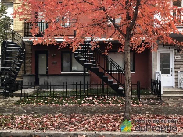 6635 rue de Saint-Vallier, Rosemont / La Petite Patrie for rent
