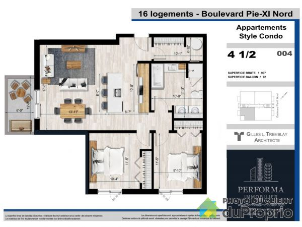 1367 boulevard Pie-XI Nord, Val-Bélair for rent