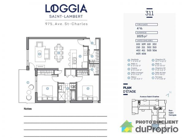 311-975 rue Saint-Charles - Projet Le Loggia, St-Lambert for rent