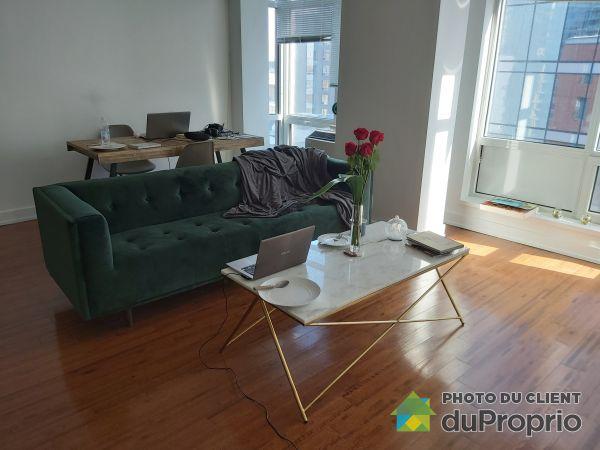 1105-345 rue de la Gauchetière, Ville-Marie (Centre-Ville et Vieux Mtl) for rent